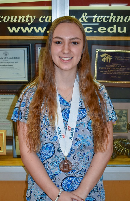 CCCTC Student Competes in SkillsUSA State Competition