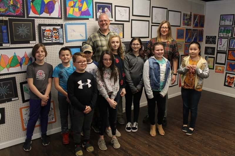 Local Art Center Hosts First-ever Clearfield Elementary Art Show