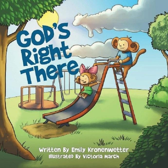 "Kronenwetter Authors Children's Book, ""God's Right There"""