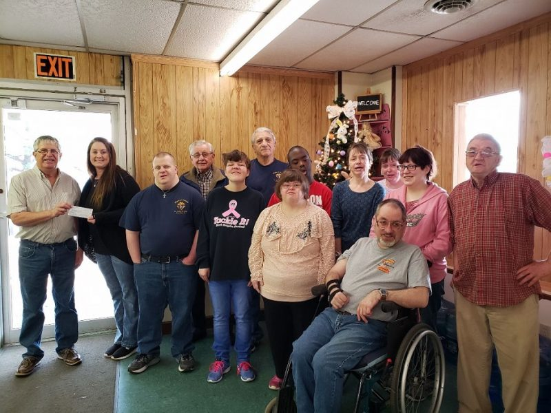 Knights of Columbus Makes Donation to Fayette Resources