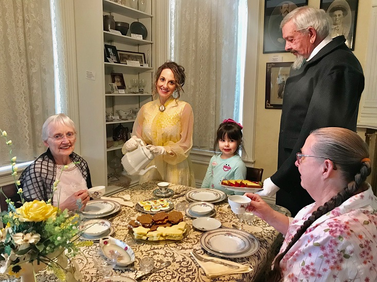 Mother's Day Tea Being Held at Kerr House Museum
