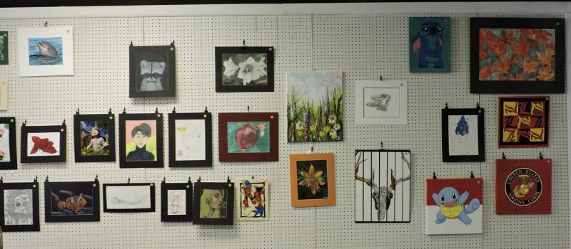 High School Art Show Now on Display at SRACC