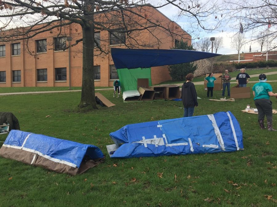 'Sleepout' Event Supports Fight Against Homelessness