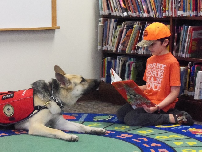 Library to Celebrate One Year of PAWS Program