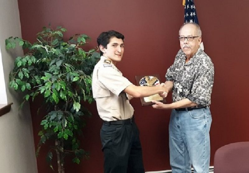 Eagle Scout Recognized at Clearfield Borough Meeting