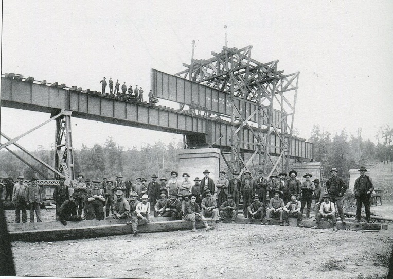 Throwback Thursday: Bridge Construction in Arnoldtown
