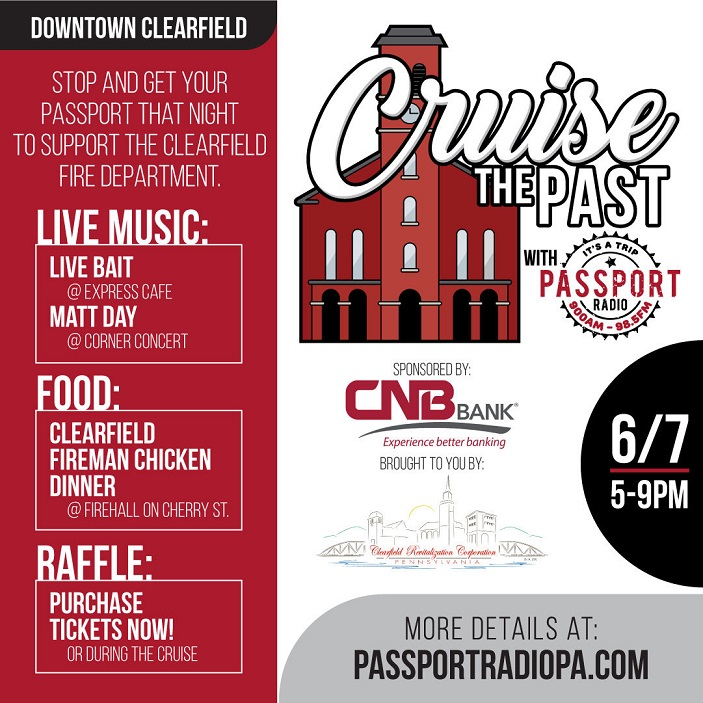 """Cruise the Past"" in Downtown Clearfield"