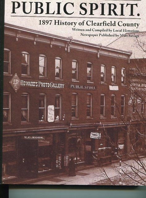 Clearfield Historical Society Publishes County History Book