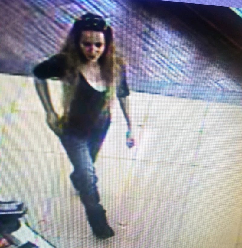 UPDATED: Clearfield Police ID Female, Vehicle Owner in Theft Investigation