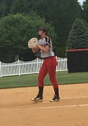 Hipps' 13-Strikeout Two-Hitter, 10-Run First Inning Secure Trip to District 9-AAA Final, Winning Record for Lady Bison