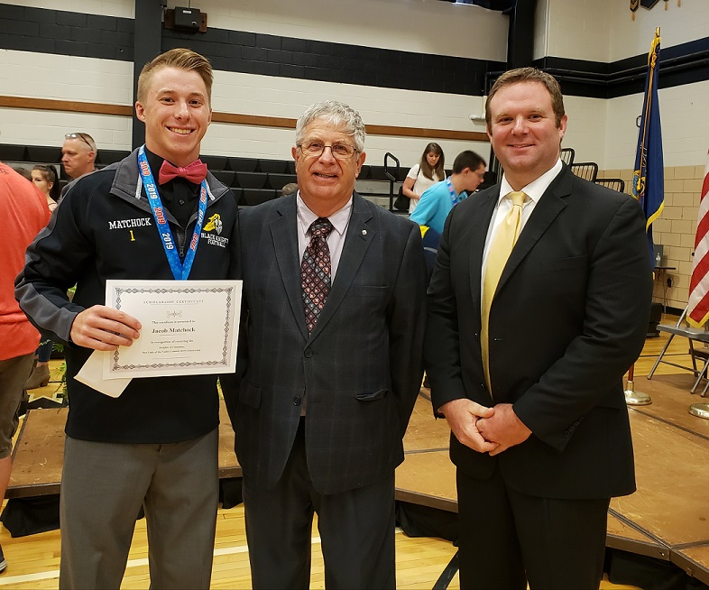 Matchock Awarded Houtzdale Knights of Columbus Scholarship