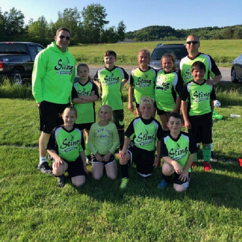 Bradford Sting's U10 Soccer Team Finishes Season Undefeated