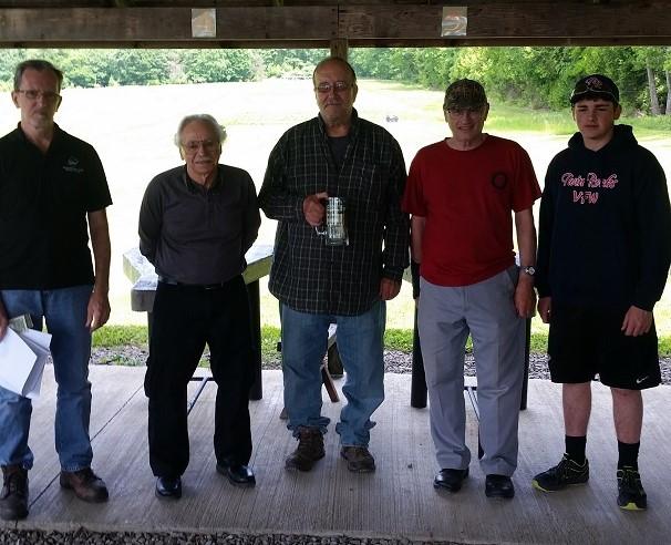 Sportsmen's Club Holds Groundhog Target Match