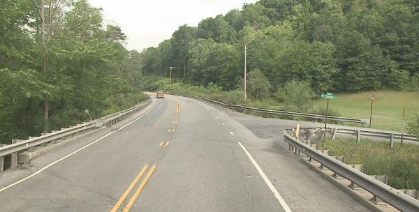 Bridge Repair Work Under Way Near Penfield