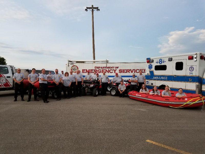 Region 3 Swift Water Rescue Team Earns Class 2A Certification