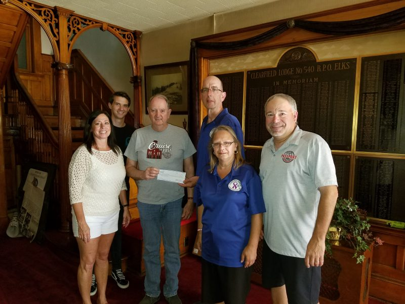 Taco Tour Raises $2,500 for Clearfield County Cancer Support Group