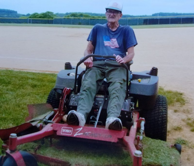 Lawrence Township Rec Park Baseball Field Dedicated to Long-time Volunteer