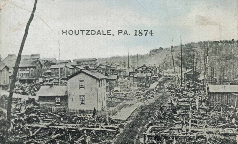 Throwback Thursday: The Oldest Known Photo of Houtzdale