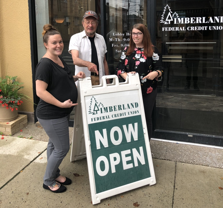 Grand Opening of Timberland FCU's New Branch Location in Historic Moshannon Building Set for Friday