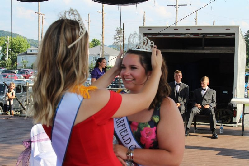 Liddle Crowned 2019 Clearfield County Fair Queen