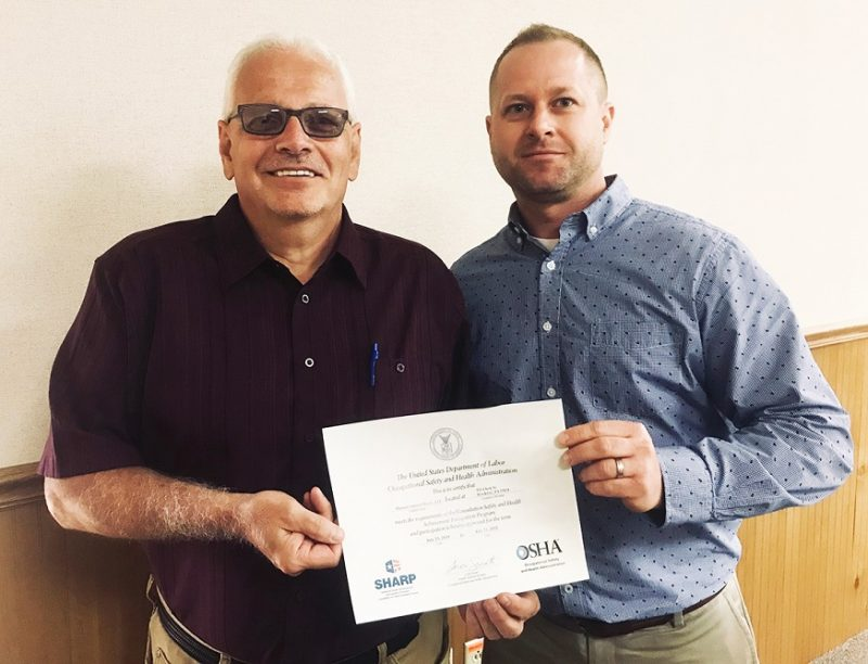 Exemplary Safety and Health Practices Earn Phoenix Sintered Metals Prestigious OSHA Distinction