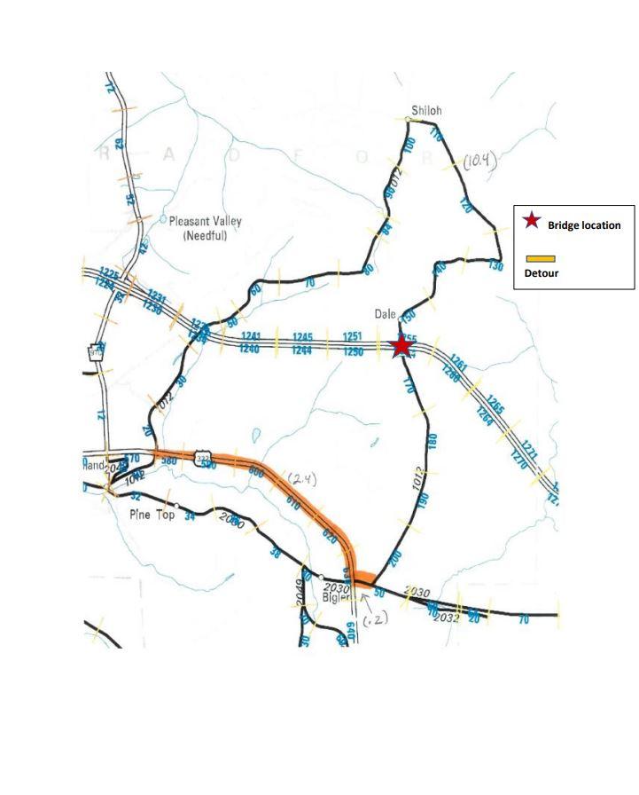 PennDOT Issues Update I-80 Bridge Work in Bradford Twp.
