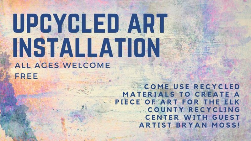 Public Invited to Collaborative Upcycled Art Project in St. Marys