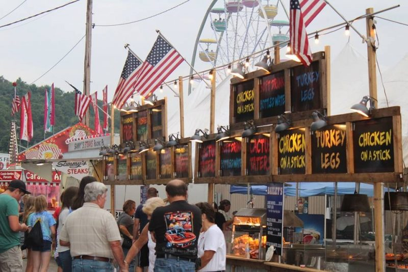 Daily Schedule for Clearfield County Fair