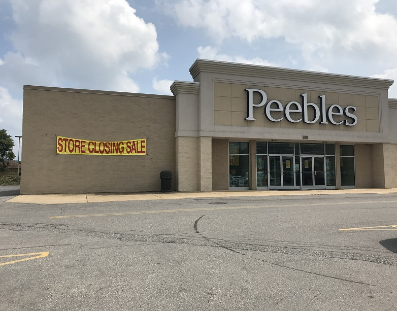 Clearfield Peebles to Convert to Gordmans Store