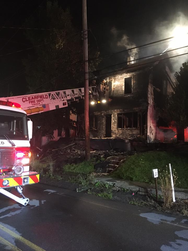 Fire Destroys Woodland Home