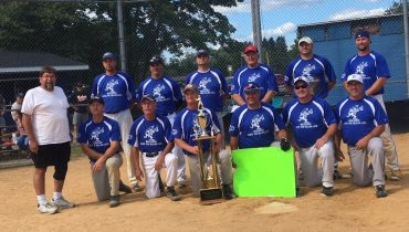 "Over-The-Hillbillies Come From Behind To Cart Off Seventh Clearfield ""Past-Your-Prime"" Softball Tourney Title Trophy"