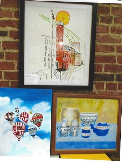 Susquehanna River Art Center Exhibit on Display