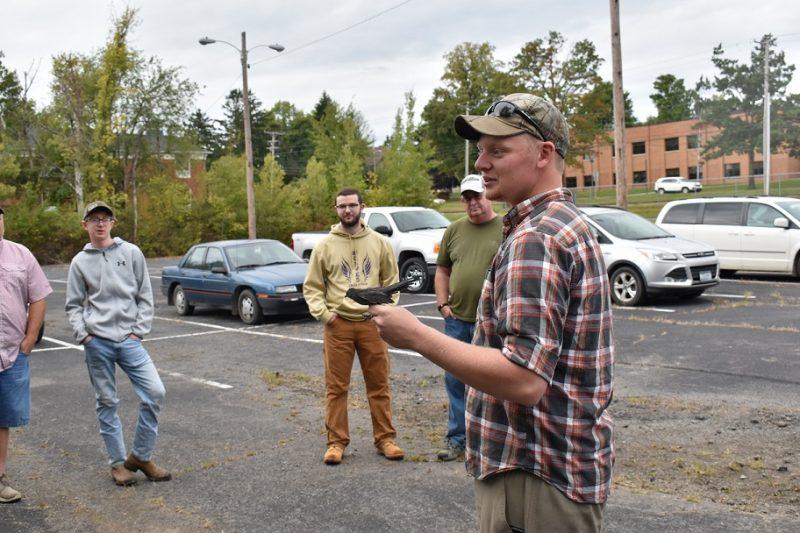 Wildlife Leadership Academy visits Penn State DuBois