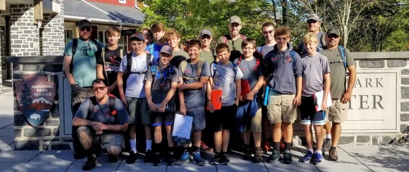 Clearfield Boy Scouts Complete Historic Trails Program