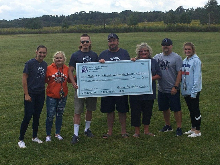 Inaugural Taylor Harpster Memorial Softball Tournament Raises Over $3,700 for Scholarship