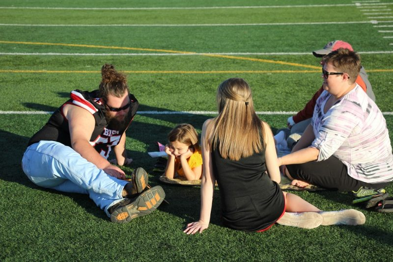 PHOTO SLIDESHOW: Tales on the Turf Reading Event at Clearfield Bison Sports Complex
