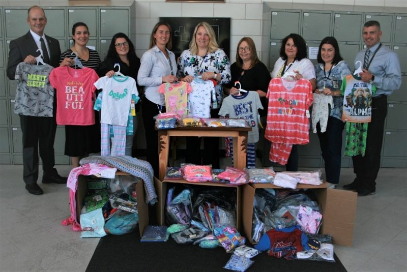 Pajama Drive Benefits Child Advocacy Center and Children, Youth and Family Services