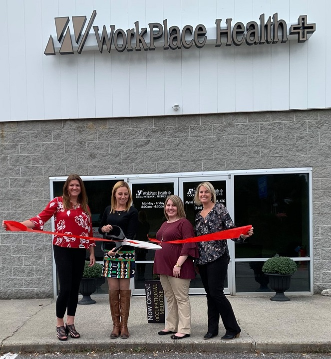 WorkPlace Health Holds Red Ribbon-Cutting