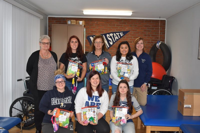 Penn State DuBois Students Make Donation for Displaced Children