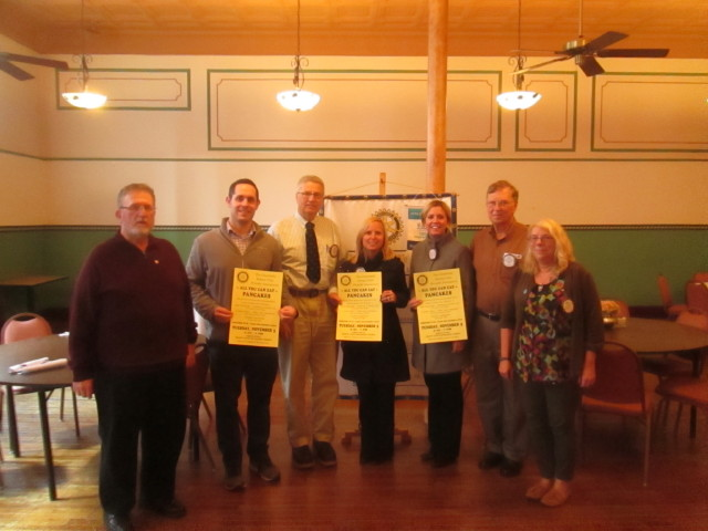 Clearfield Rotary to Hold Annual Pancake and Sausage Dinner on Election Day