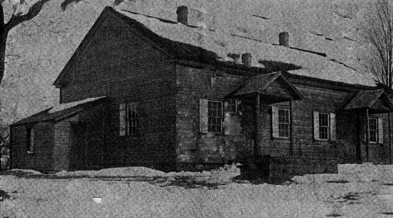 Throwback Thursday: Original Quaker Church in Penn Township