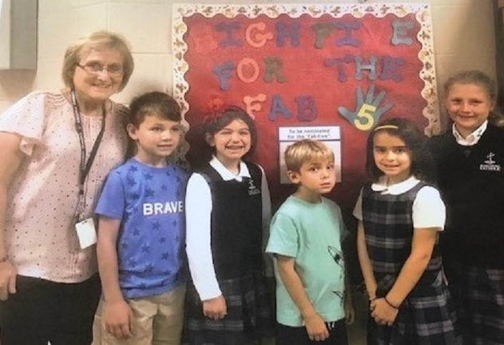 DuBois Central Catholic Elementary Begins FAB FIVE Initiative