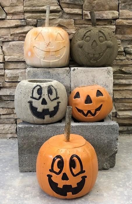 CCCTC Masonry Students Create Pumpkins