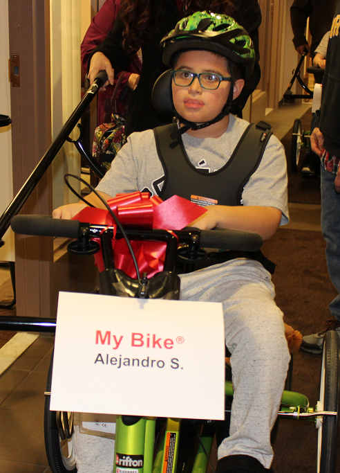 Charity Provides Adaptive Equipment That Changes Lives of Local Kids