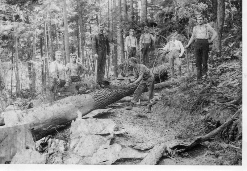 Throwback Thursday: Clearing the Way for Rockton-DuBois Highway