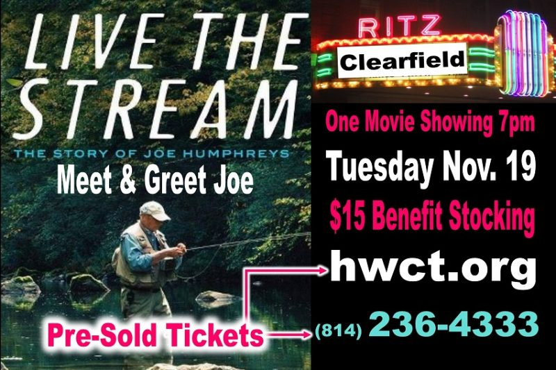 Documentary Featuring Curwensville Native and Legend Joe Humphreys to Premiere at Ritz