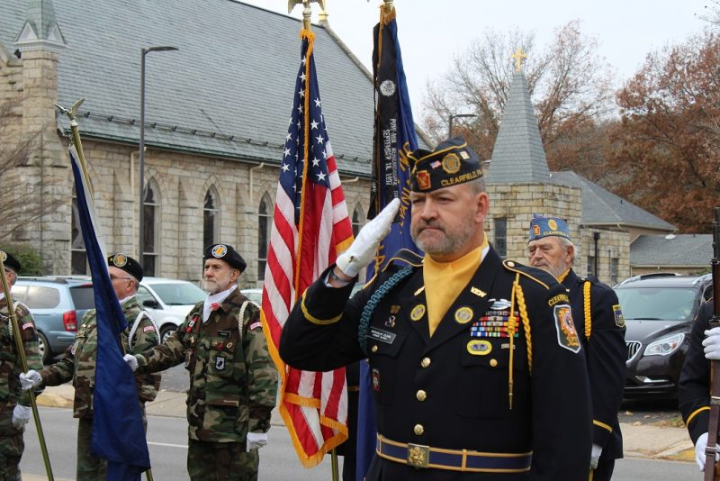 Veterans Honored at Annual Ceremony in Clearfield