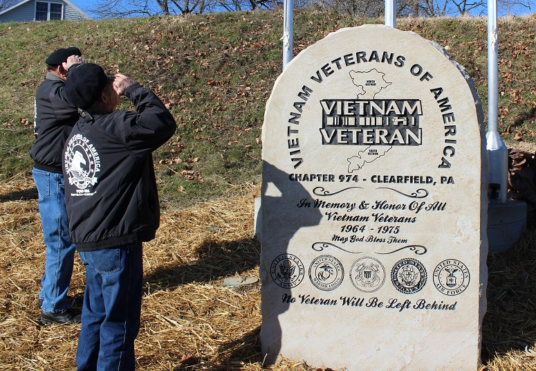 New Vietnam Memorial Dedicated in Clearfield