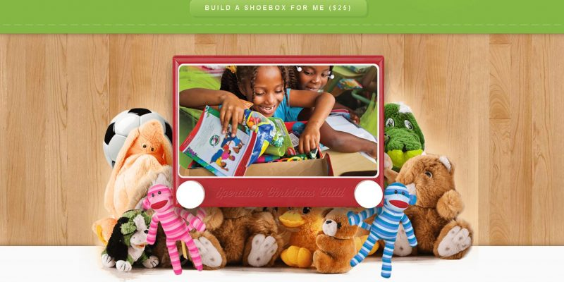 Build an Operation Christmas Child Shoebox Gift Online