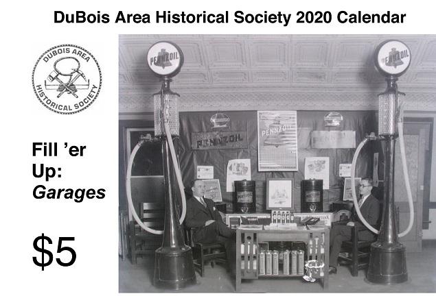 DuBois Area Historical Society's 2020 Calendar Available